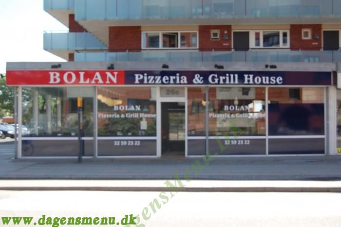 Bolan Pizza & Grill House