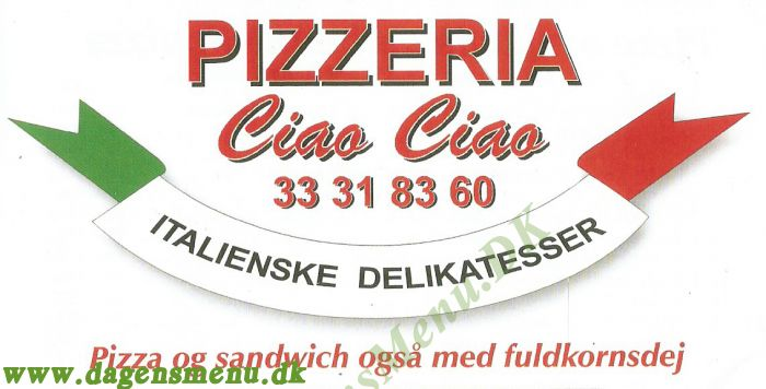 Pizzaria Ciao Ciao