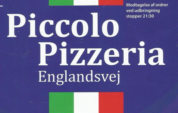 Piccolo Pizza Englandsvej