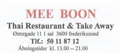 Mee Boon Thai Restaurant