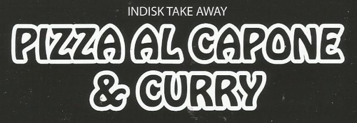Pizza Al Capone & Curry