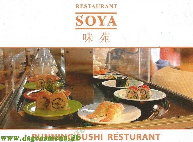 Restaurant Soya  (1) Japansk Sushi