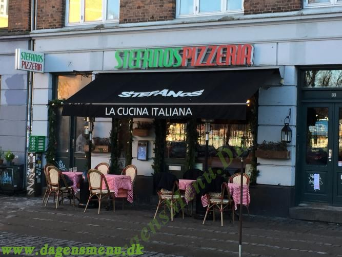 Stefanos Pizza Nørrebro