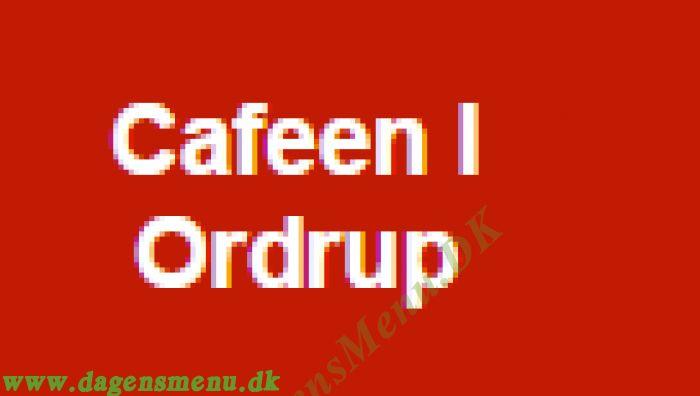 Cafeen I Ordrup