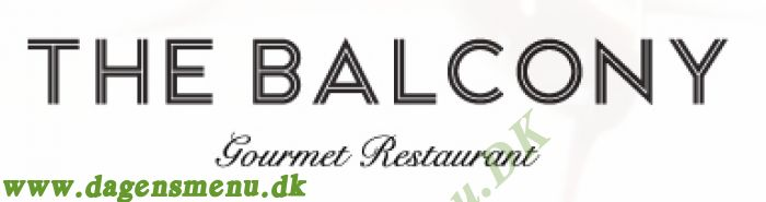 The Balcony Gourmet Restaurant