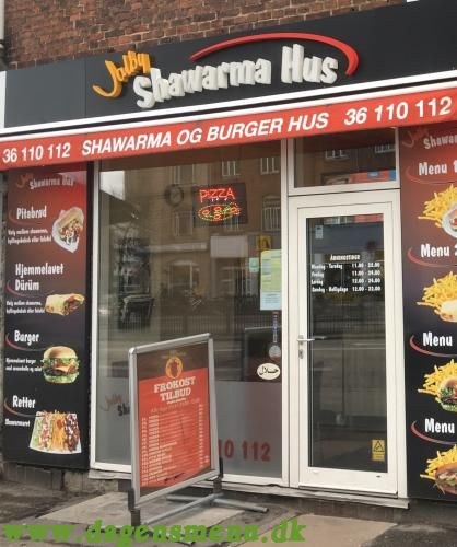 VALBY PIZZA & SHAWARMA HUS VED VALBY STATION