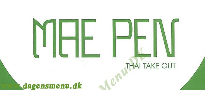 Mae Pen Thai take out