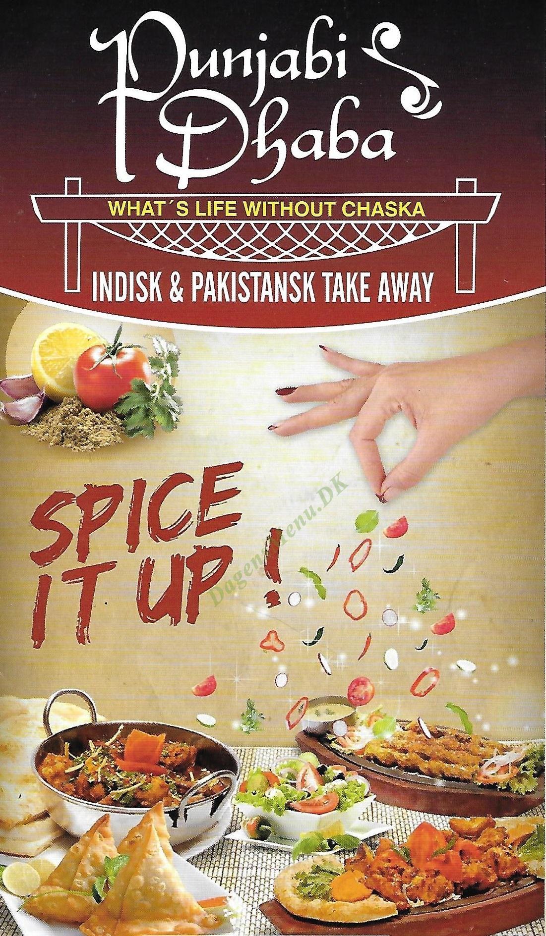 Punjabi Dhaba Pakistansk & Indisk - Menukort