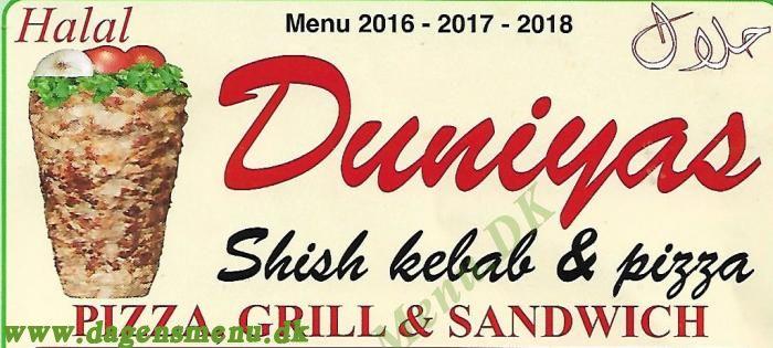 Duniyas Shish Kebab