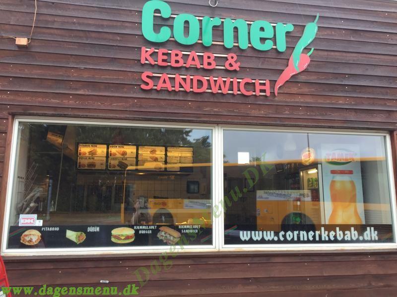 Corner Sandwich og Kebab