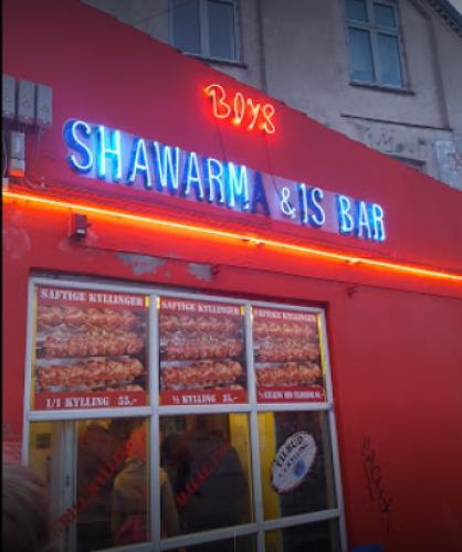 Boys shawarma Nørrebro