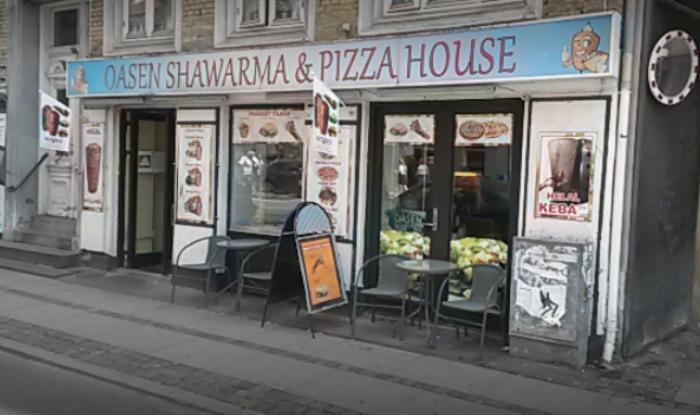 Oasen Kebab Pizza