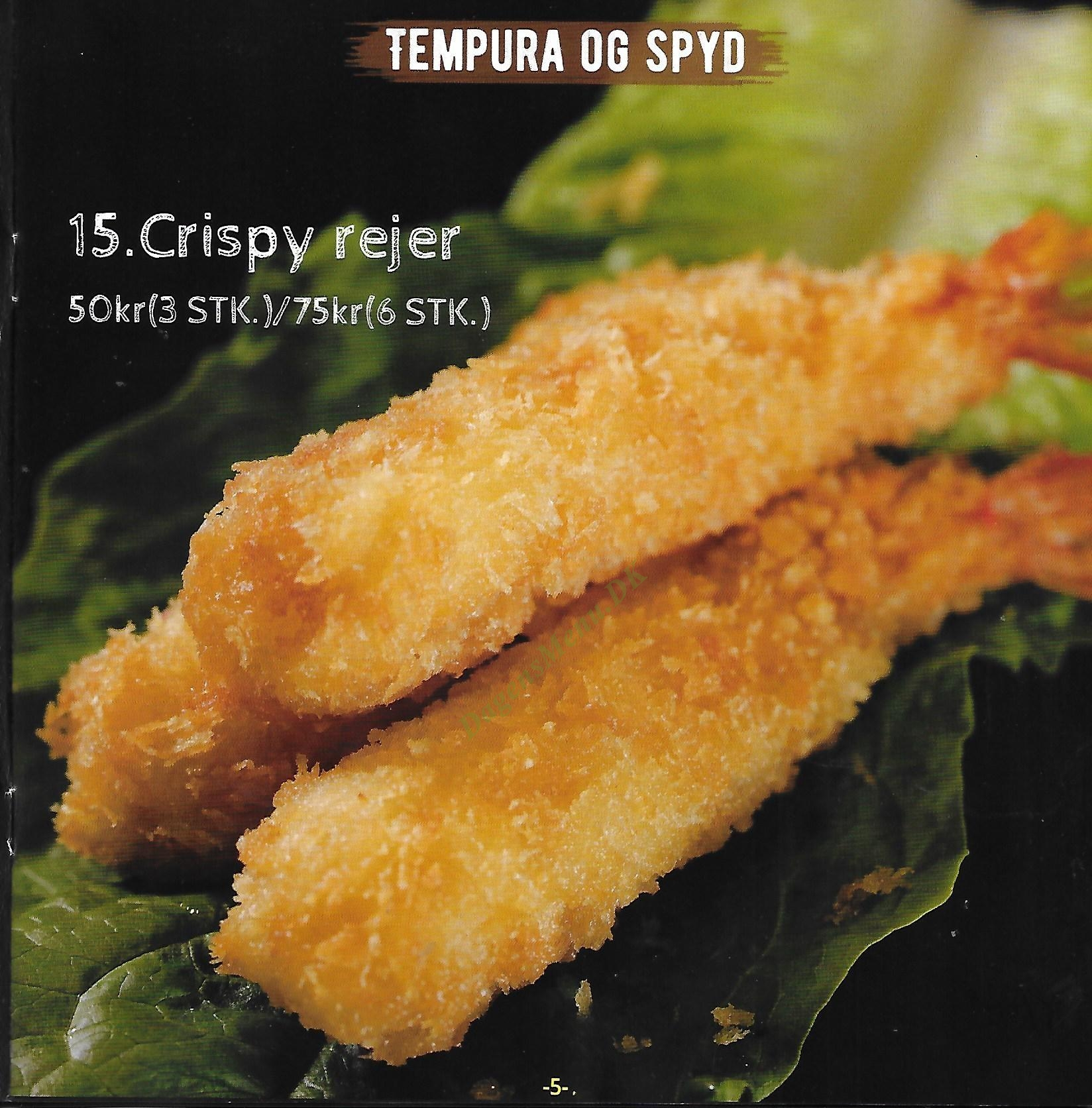 Sushi Amor - Menukort