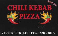 Chili Kebab Pizza