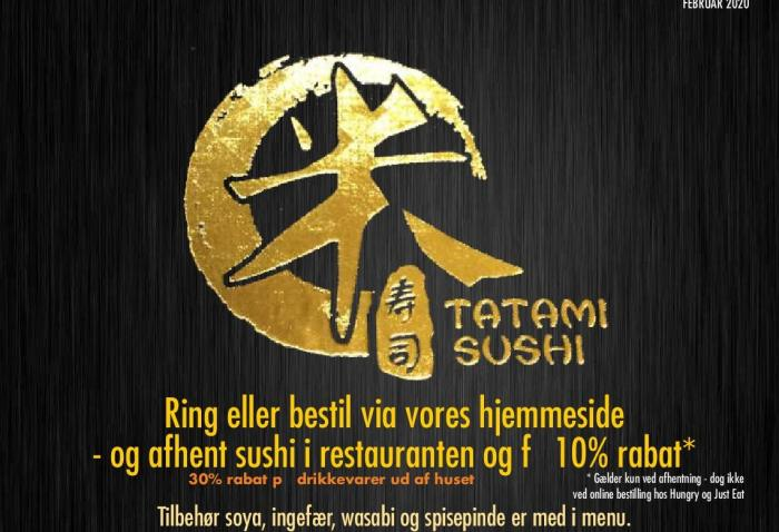 Tatami sushi næstved