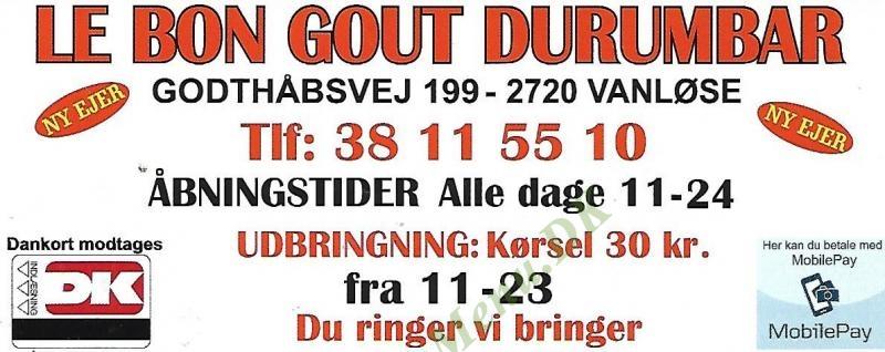 Le Bon Goút - Durum Bar
