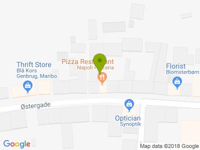 Napoli Pizza - Kort
