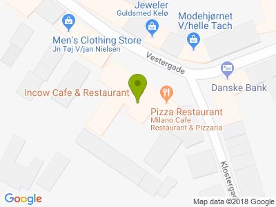 Incow Cafe & Restaurant - Kort