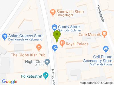 Restaurant Sushi Nørregade - Kort