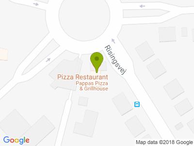 Pappas Pizza og Grillhouse - Kort
