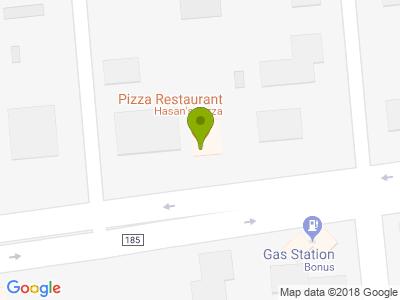 Hasan's Pizza - Kort
