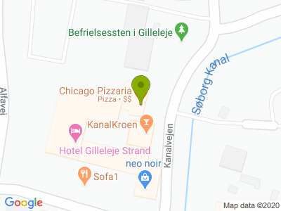 Chicago Pizza - Kort