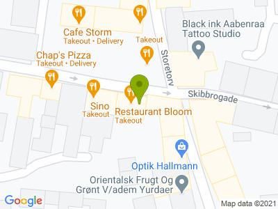 Restaurant Bloom - Kort