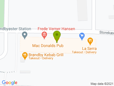 Brøndby Kebab Grill - Kort