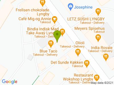 Bindia Lyngby - Kort