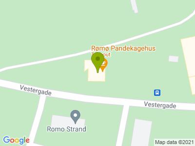Rømø Pandekagehus - Kort