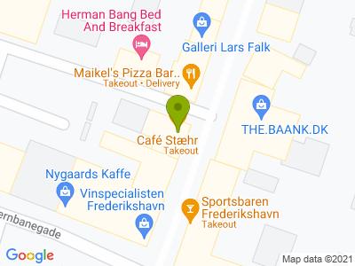 Café Stæhr - Kort