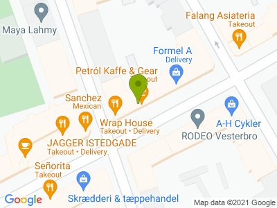 Petról Kaffe & Gear - Kort