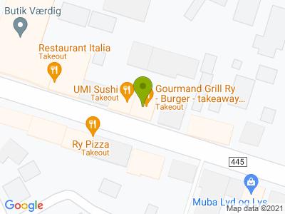 Gourmand, Grill- og sandwichbar - Kort